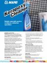 Soluție speciala pentru curatarea chiturilor epoxidice