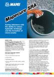 Solutie protectoare MAPEI - MAPECURE SRA