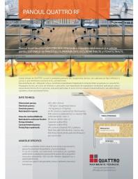 Pardoseli tehnice cu panouri rezistente la foc