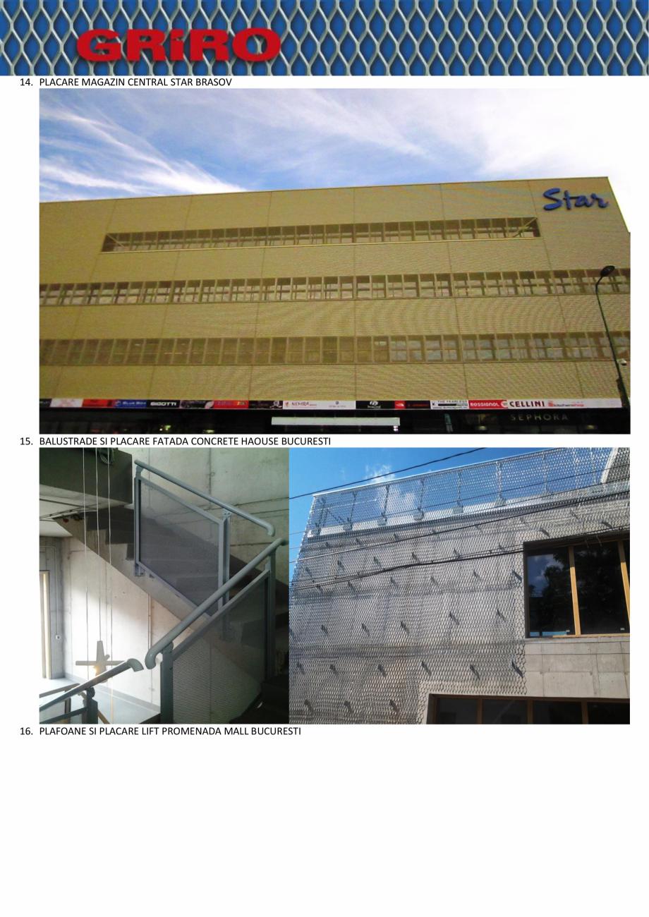 Pagina 7 - Proiecte la cheie GRIRO S.A.  Lucrari, proiecte Romana