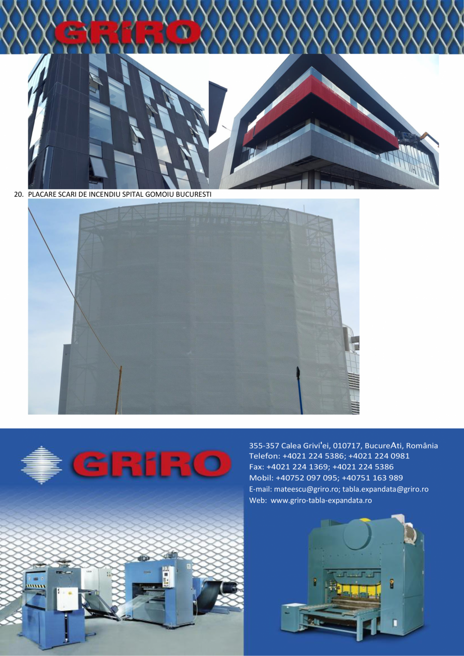 Pagina 9 - Proiecte la cheie GRIRO S.A.  Lucrari, proiecte Romana