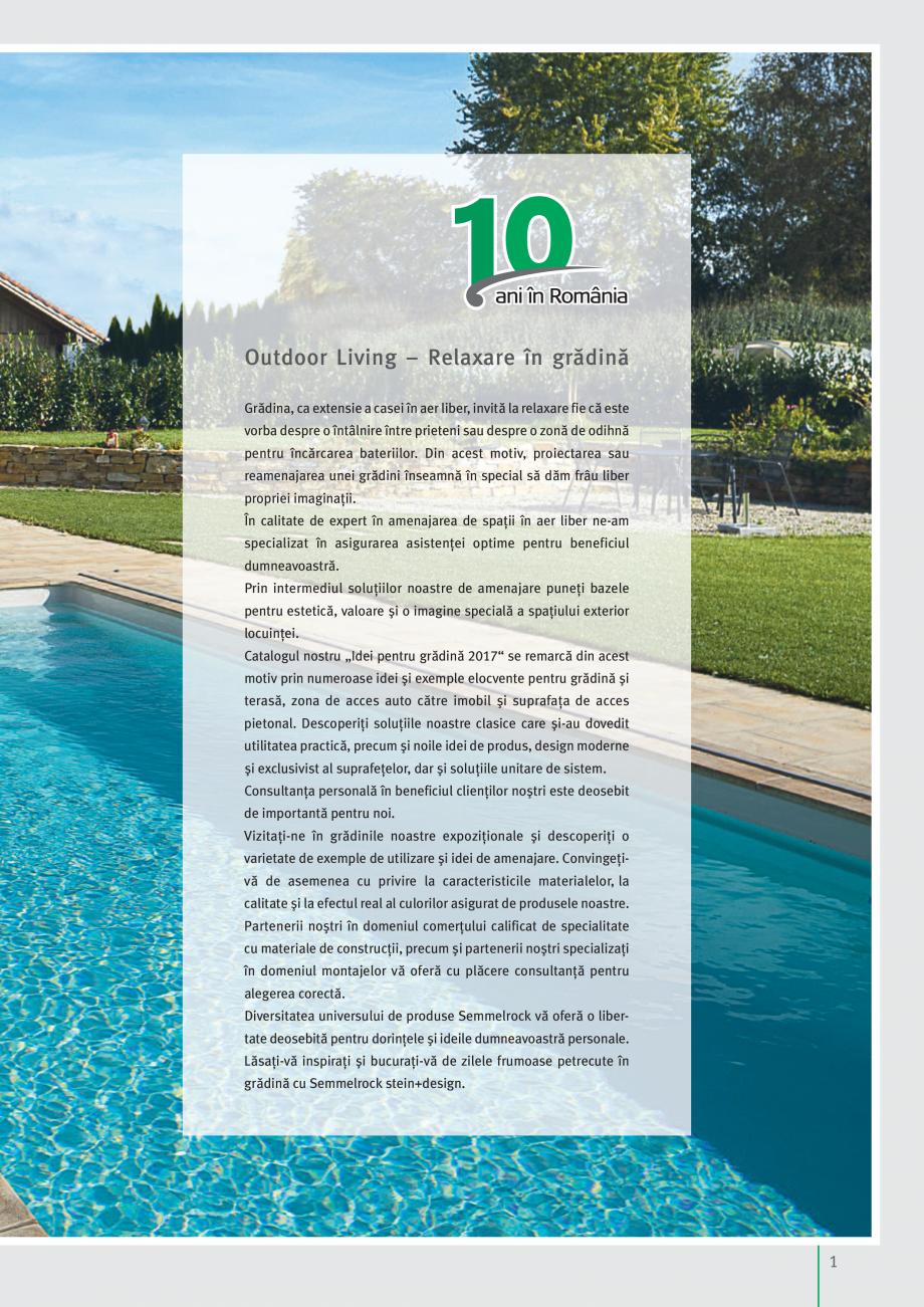 Pagina 3 - Idei pentru gradina 2017 PENTER PIAZZA Catalog, brosura Romana  de specialitate cu...