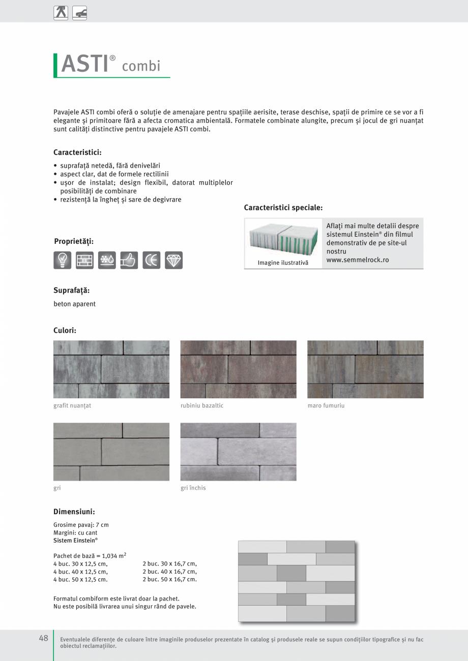 Pagina 50 - Idei pentru gradina 2017 PENTER PIAZZA Catalog, brosura Romana prafață din beton...