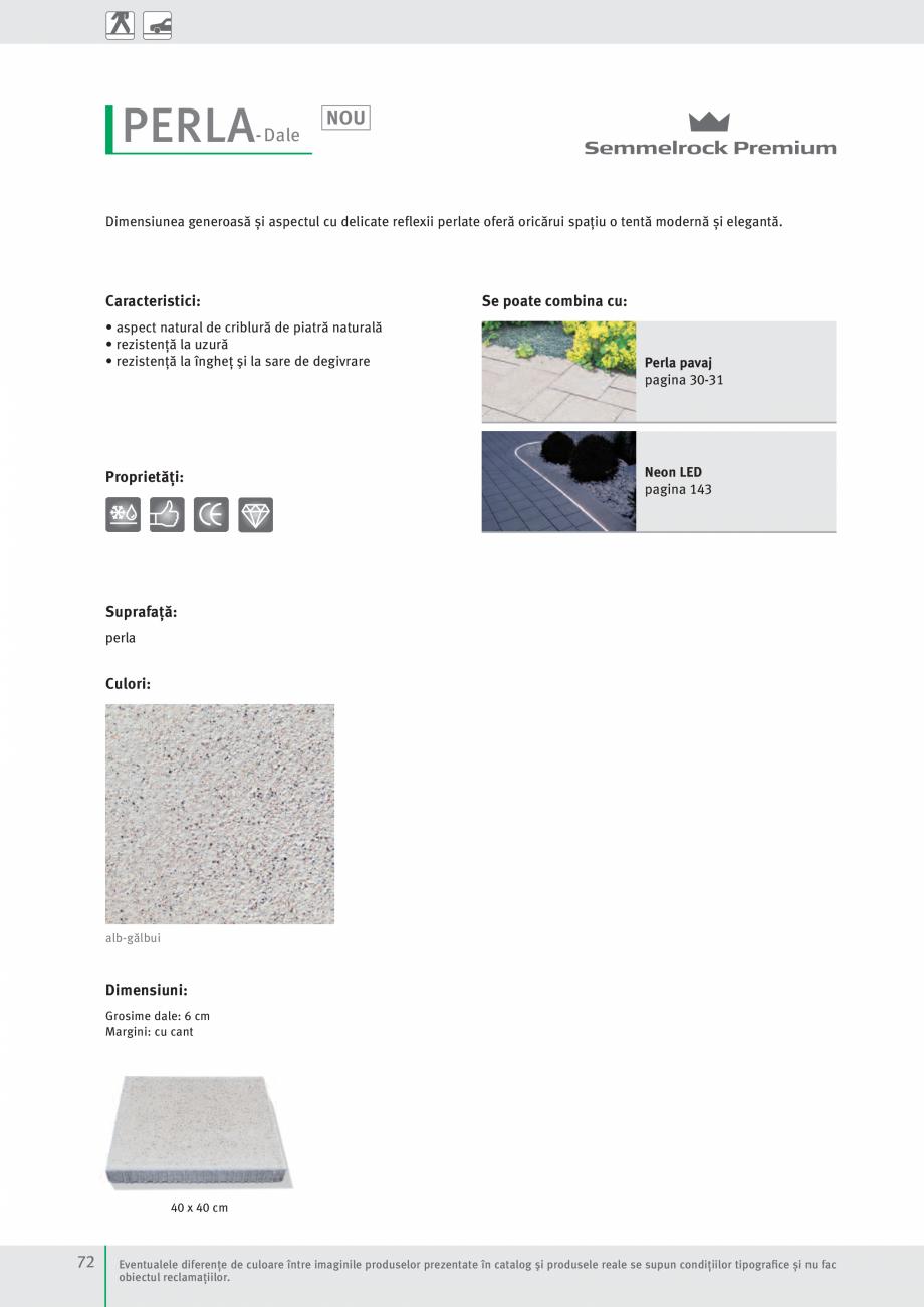 Pagina 74 - Idei pentru gradina 2017 PENTER PIAZZA Catalog, brosura Romana  81 x 41 cm  Eventualele ...