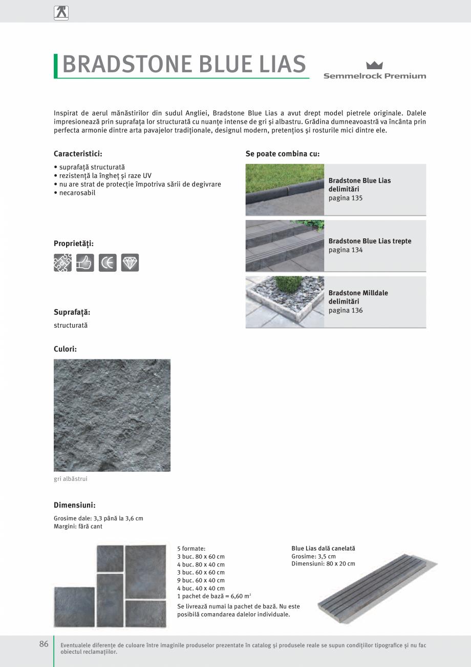 Pagina 88 - Idei pentru gradina 2017 PENTER PIAZZA Catalog, brosura Romana obiectivelor arheologice....