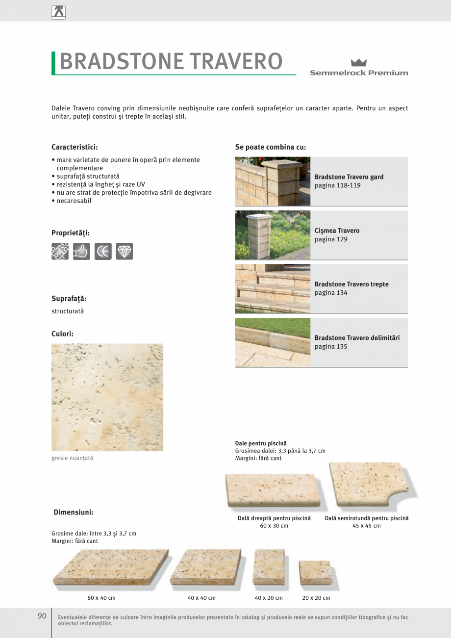 Pagina 92 - Idei pentru gradina 2017 PENTER PIAZZA Catalog, brosura Romana tone Travero, gard gresie...