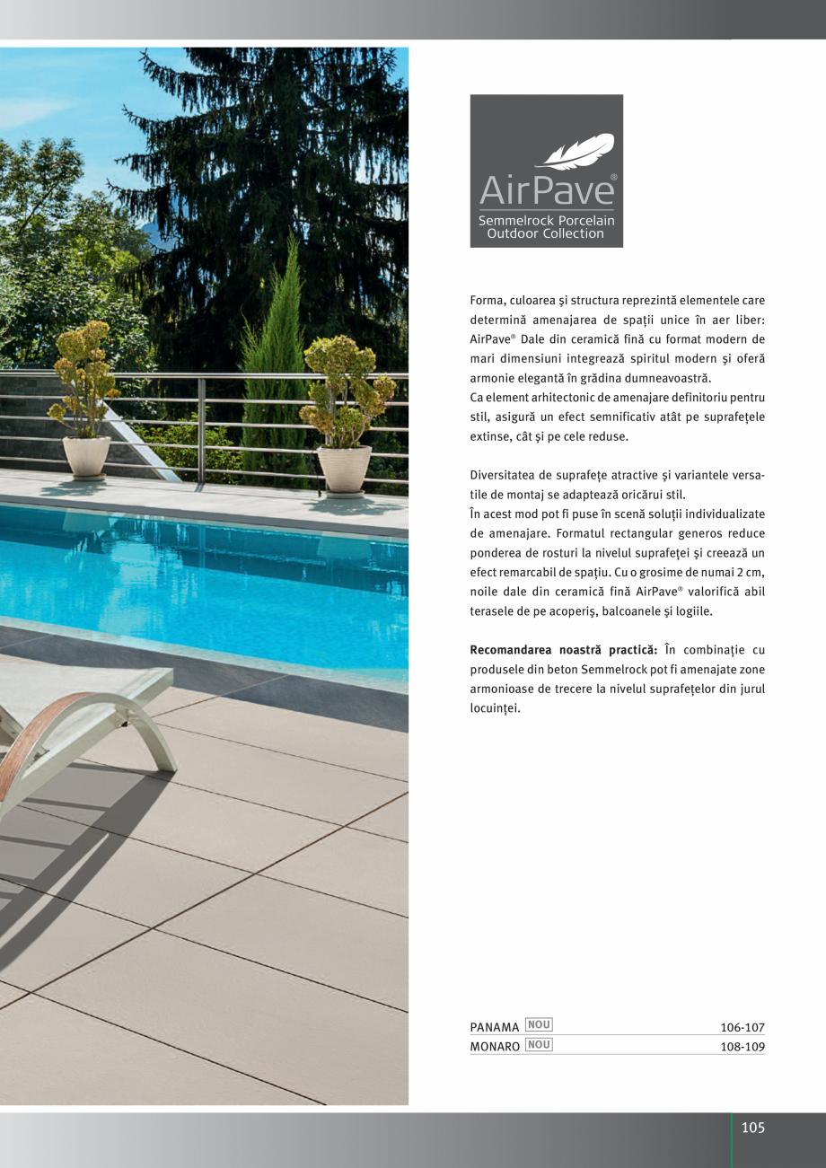 Pagina 107 - Idei pentru gradina 2017 PENTER PIAZZA Catalog, brosura Romana esignul grădinii. Fiind...