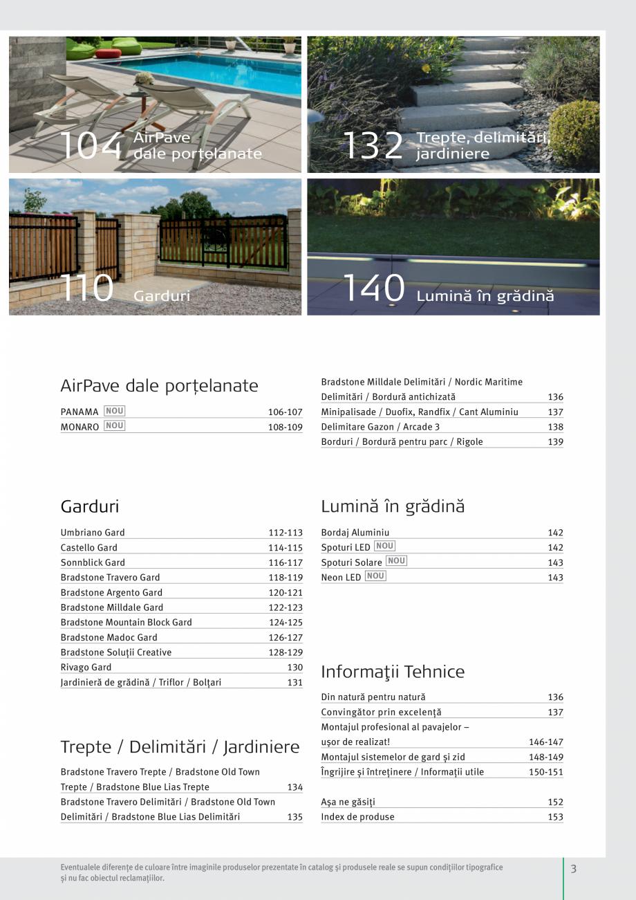 Pagina 5 - Idei pentru gradina 2017 SEMMELROCK STEIN+DESIGN Catalog, brosura Romana  NOU  139 ...