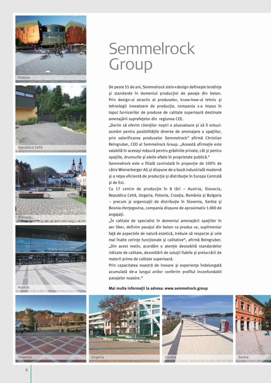 Pagina 6 - Idei pentru gradina 2017 SEMMELROCK STEIN+DESIGN Catalog, brosura Romana e produse  153  ...