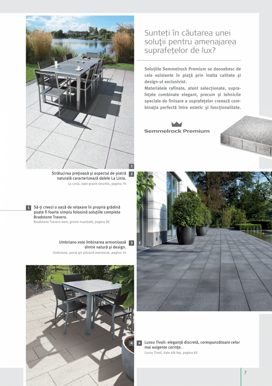 Pagina 9 - Idei pentru gradina 2017 SEMMELROCK STEIN+DESIGN Catalog, brosura Romana mium se...