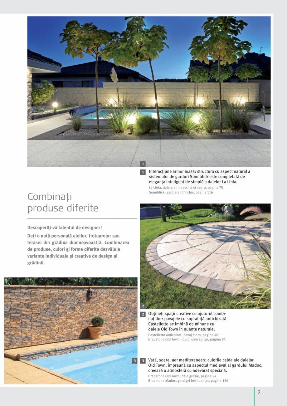 Pagina 11 - Idei pentru gradina 2017 SEMMELROCK STEIN+DESIGN Catalog, brosura Romana  simplă a...