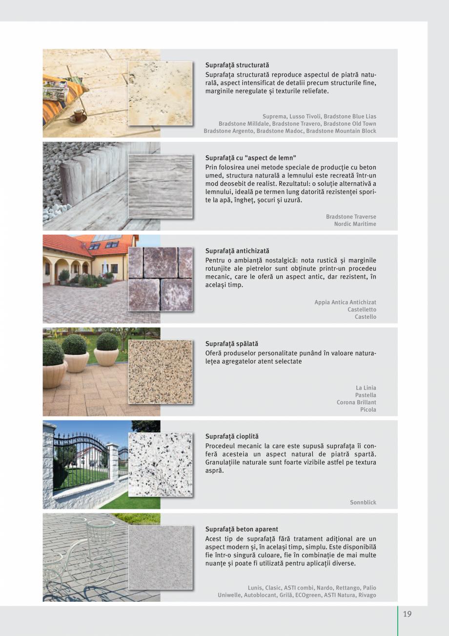 Pagina 21 - Idei pentru gradina 2017 SEMMELROCK STEIN+DESIGN Catalog, brosura Romana  accente de...