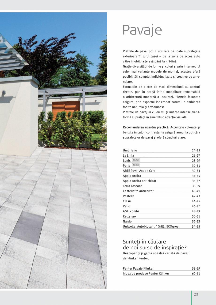 Pagina 25 - Idei pentru gradina 2017 SEMMELROCK STEIN+DESIGN Catalog, brosura Romana ente. În...