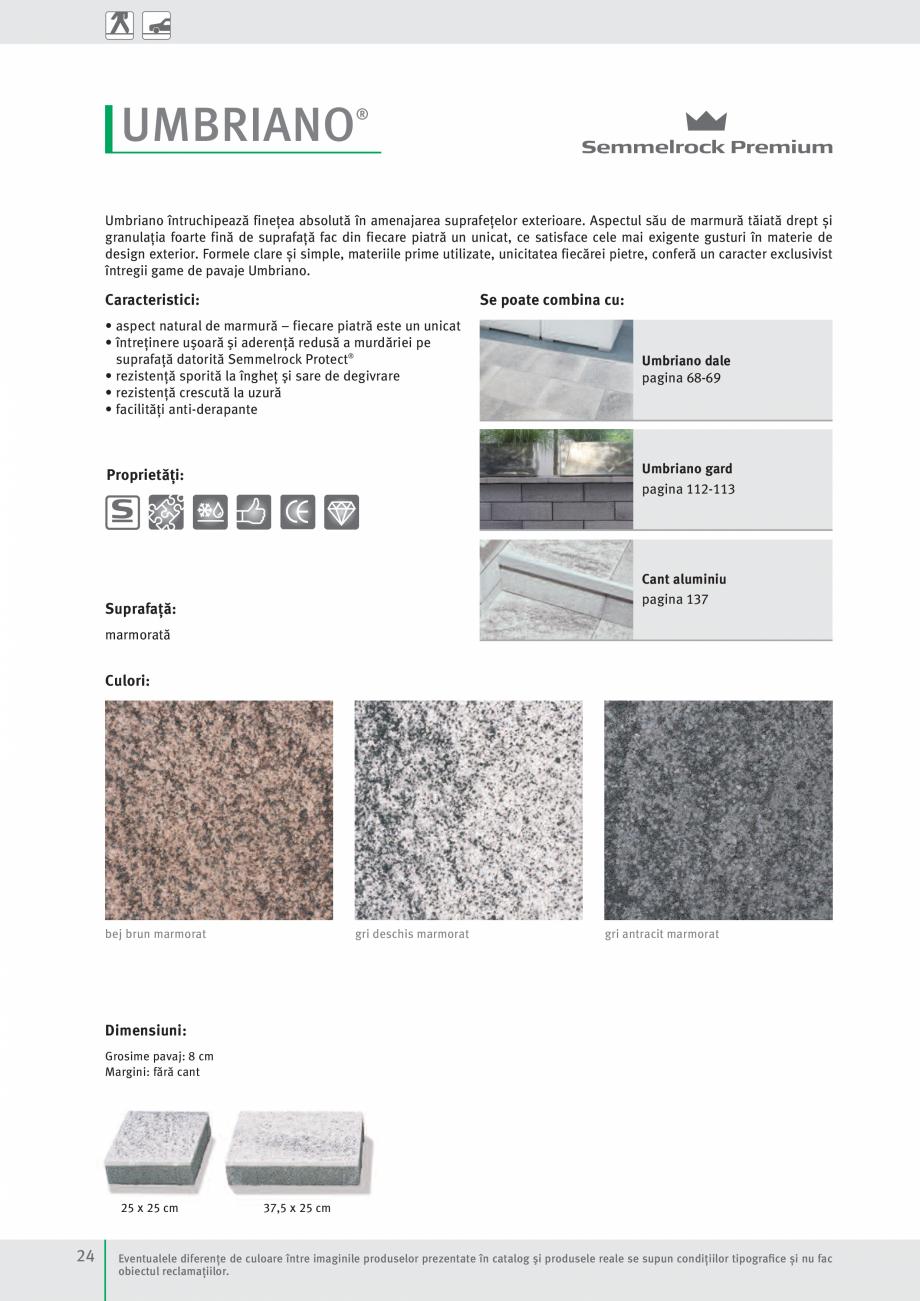 Pagina 26 - Idei pentru gradina 2017 SEMMELROCK STEIN+DESIGN Catalog, brosura Romana  mari.  1  2 Nu...