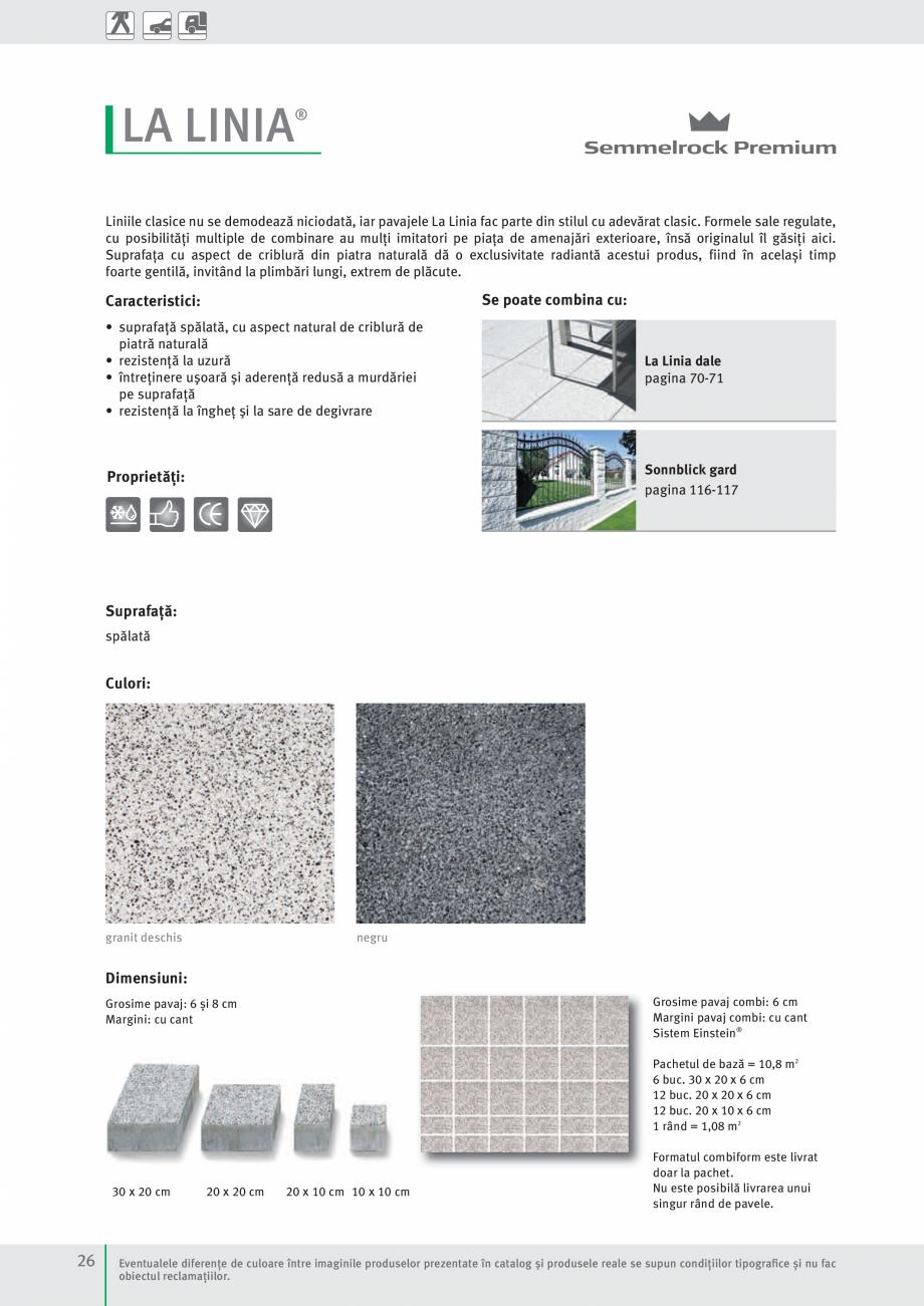 Pagina 28 - Idei pentru gradina 2017 SEMMELROCK STEIN+DESIGN Catalog, brosura Romana ter Pavaje...