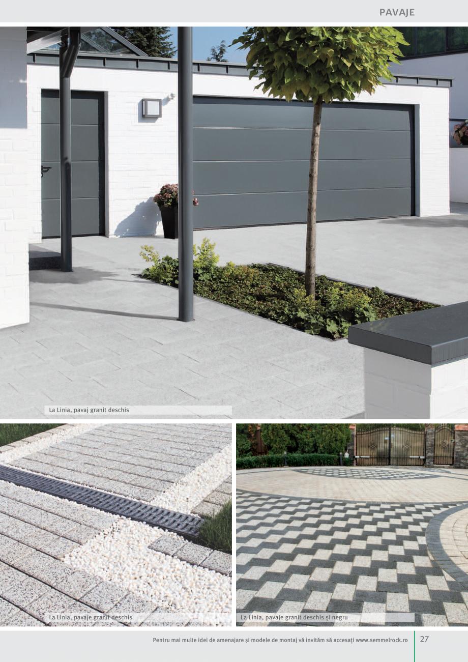 Pagina 29 - Idei pentru gradina 2017 SEMMELROCK STEIN+DESIGN Catalog, brosura Romana marmorat  gri...