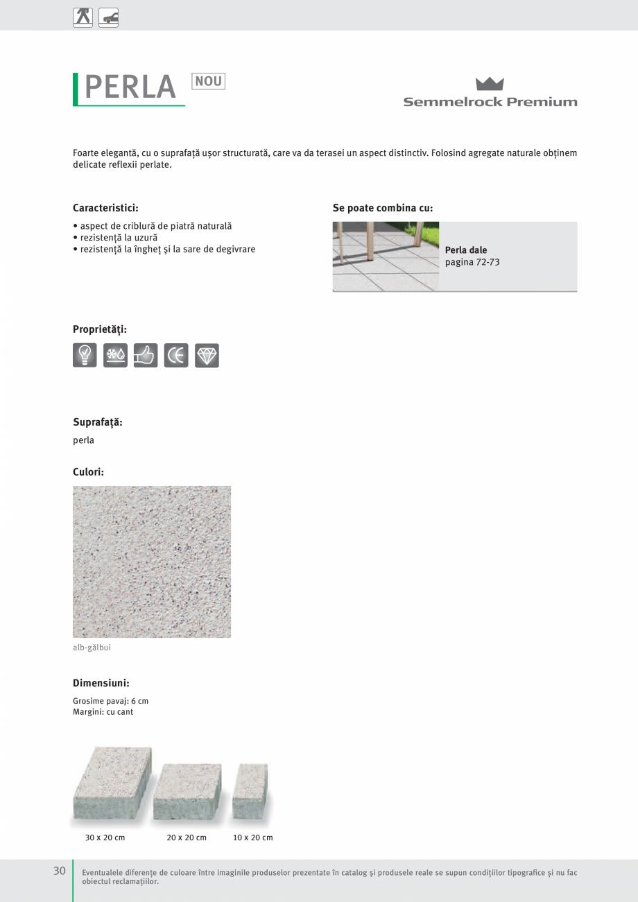 Pagina 32 - Idei pentru gradina 2017 SEMMELROCK STEIN+DESIGN Catalog, brosura Romana iilor.  PAVAJE...