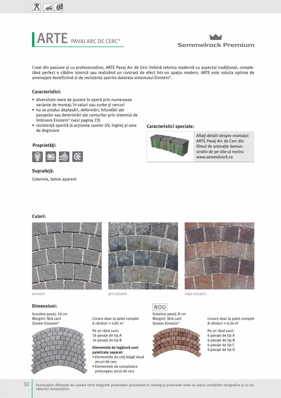 Pagina 34 - Idei pentru gradina 2017 SEMMELROCK STEIN+DESIGN Catalog, brosura Romana rare doar la...