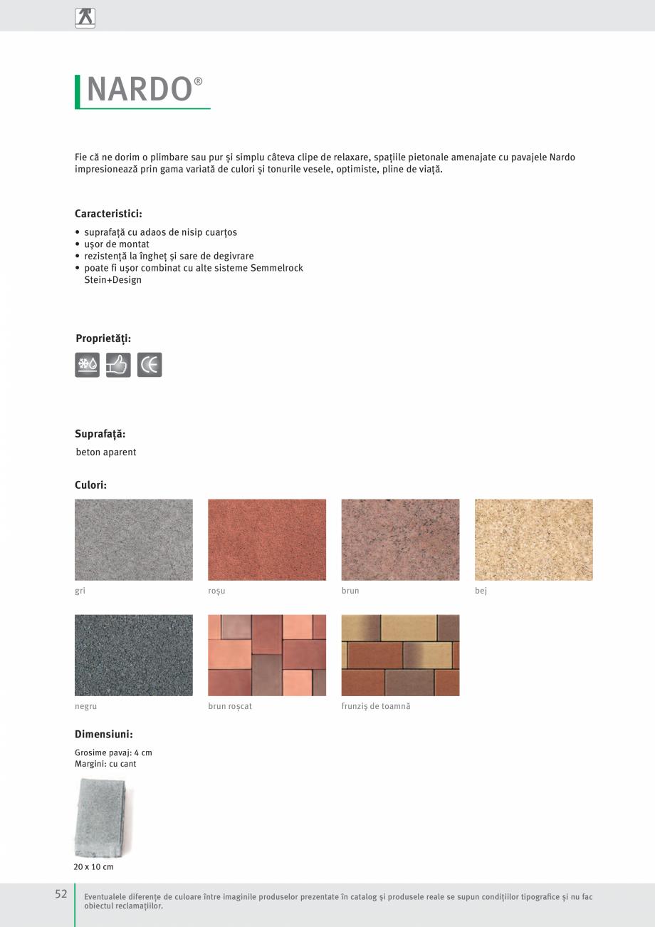 Pagina 54 - Idei pentru gradina 2017 SEMMELROCK STEIN+DESIGN Catalog, brosura Romana  doar montaj...