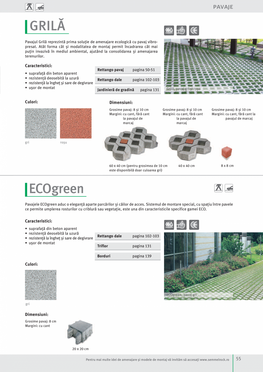 Pagina 57 - Idei pentru gradina 2017 SEMMELROCK STEIN+DESIGN Catalog, brosura Romana  aluminiu...