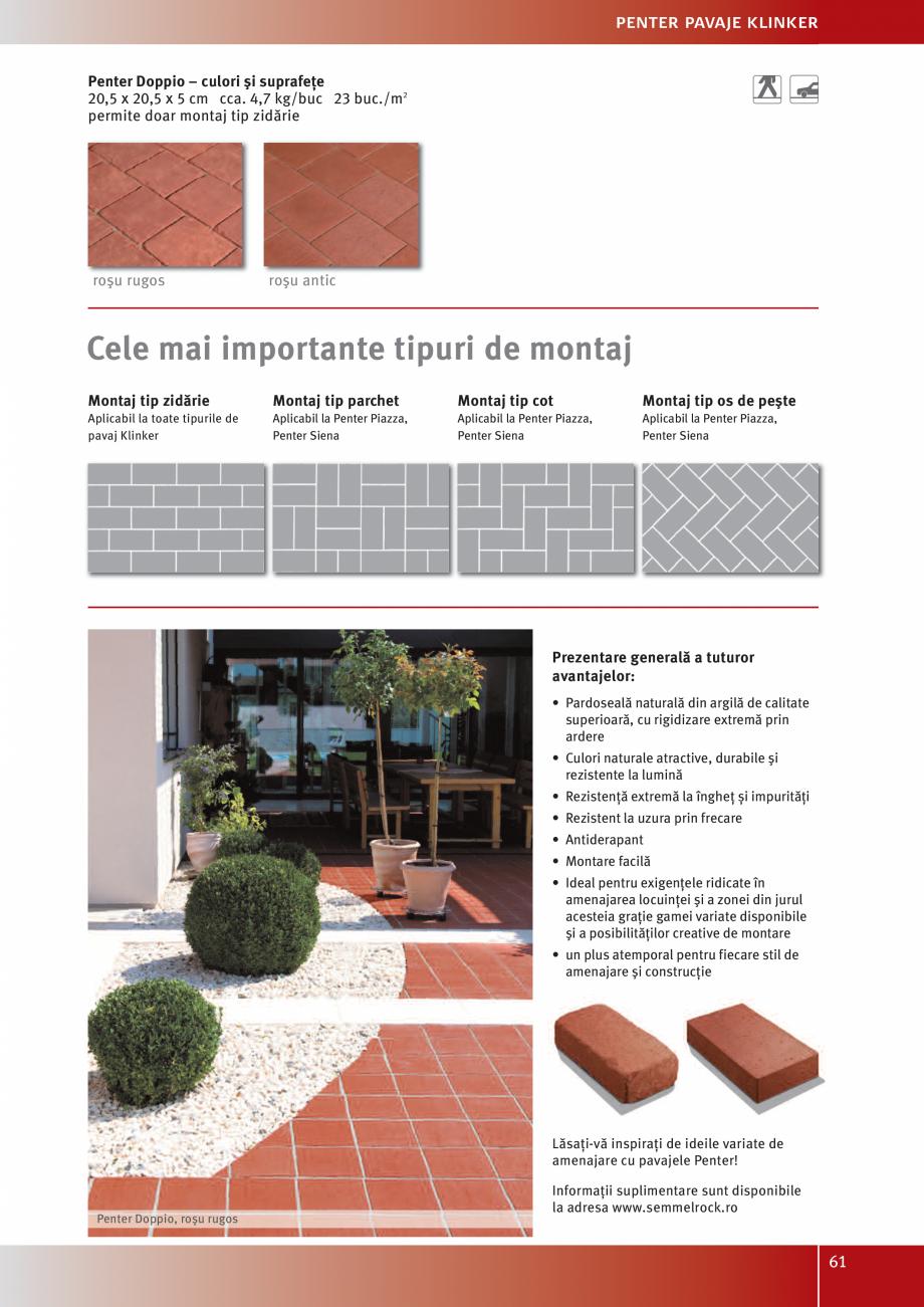 Pagina 63 - Idei pentru gradina 2017 SEMMELROCK STEIN+DESIGN Catalog, brosura Romana menajare...