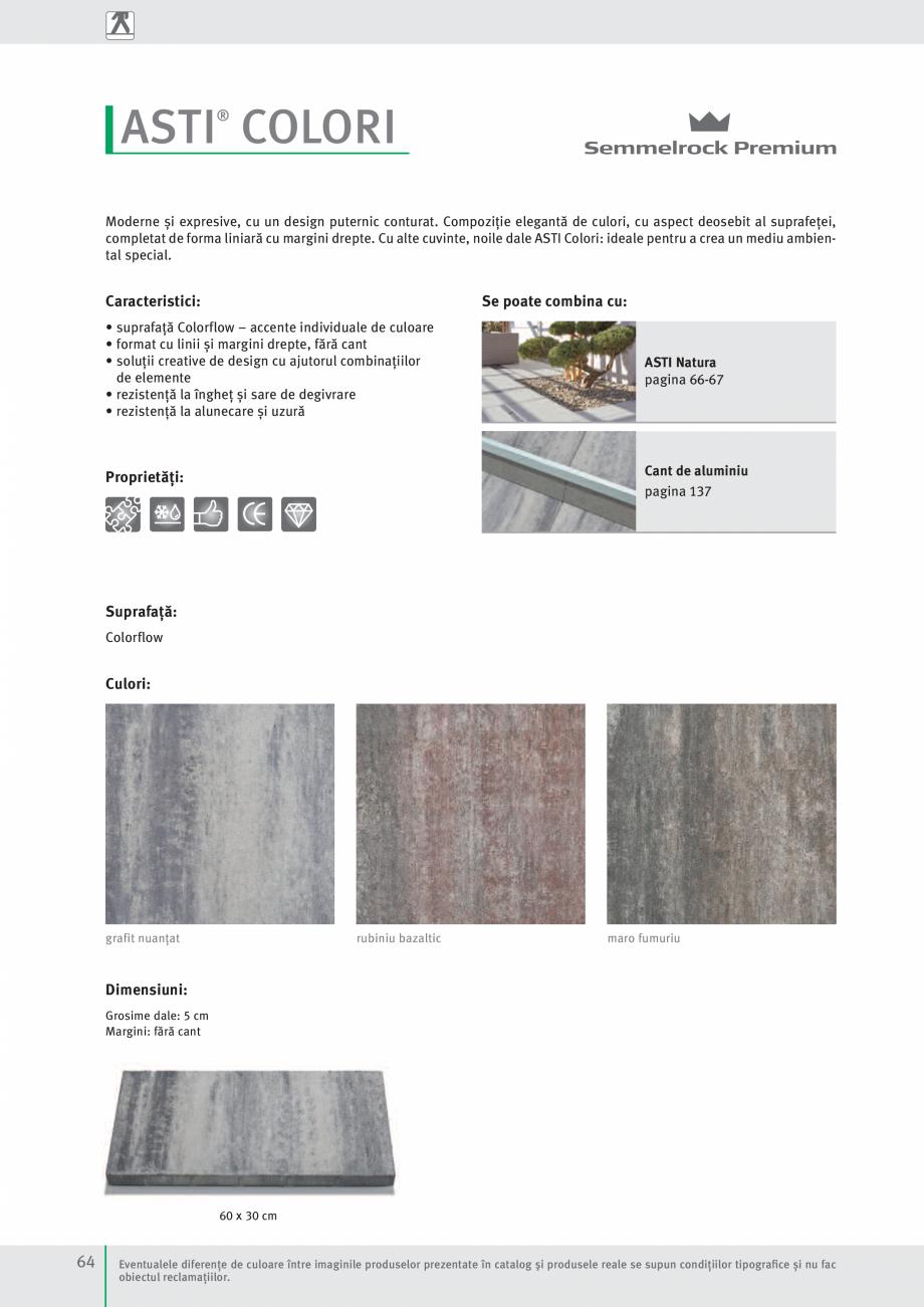 Pagina 66 - Idei pentru gradina 2017 SEMMELROCK STEIN+DESIGN Catalog, brosura Romana chet. Nu este...