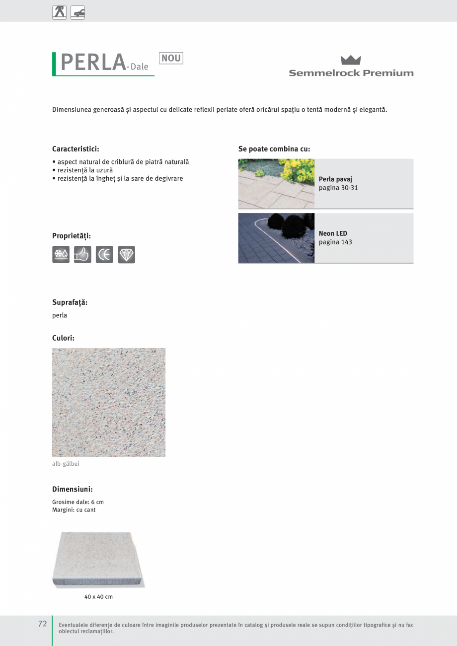 Pagina 74 - Idei pentru gradina 2017 SEMMELROCK STEIN+DESIGN Catalog, brosura Romana  81 x 41 cm ...