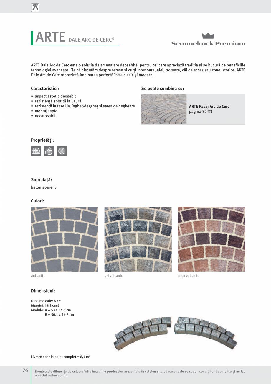 Pagina 78 - Idei pentru gradina 2017 SEMMELROCK STEIN+DESIGN Catalog, brosura Romana  adaos de...