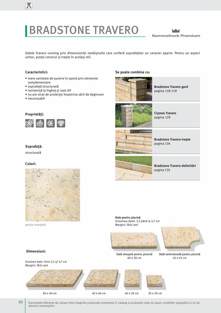 Pagina 92 - Idei pentru gradina 2017 SEMMELROCK STEIN+DESIGN Catalog, brosura Romana tone Travero,...