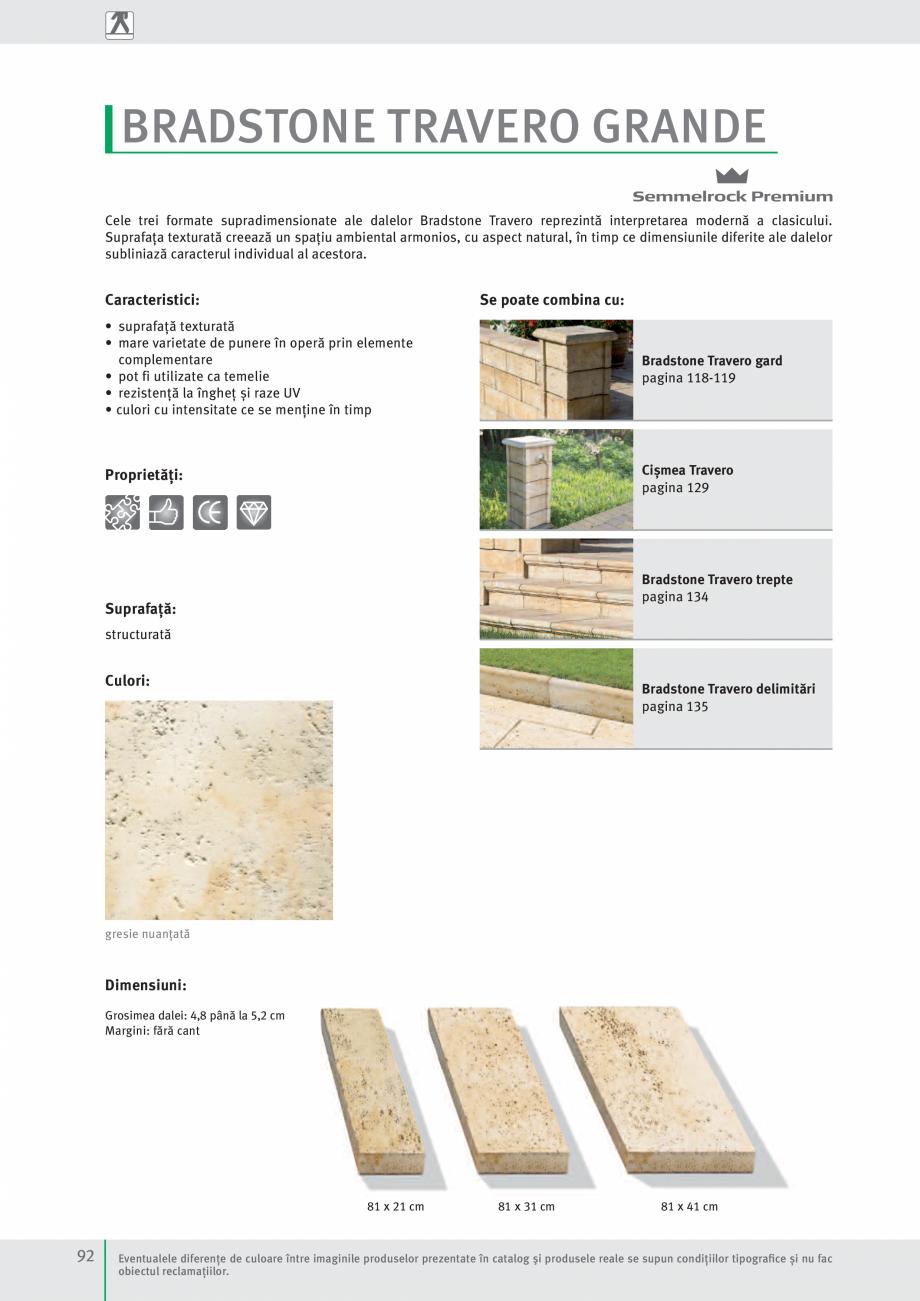 Pagina 94 - Idei pentru gradina 2017 SEMMELROCK STEIN+DESIGN Catalog, brosura Romana naturală...