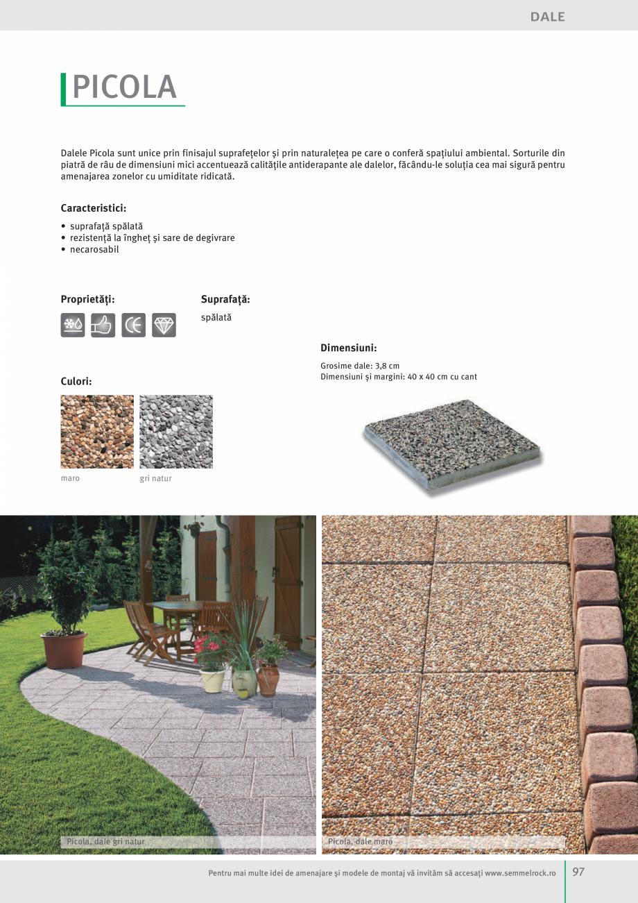 Pagina 99 - Idei pentru gradina 2017 SEMMELROCK STEIN+DESIGN Catalog, brosura Romana Madoc 1 dală...