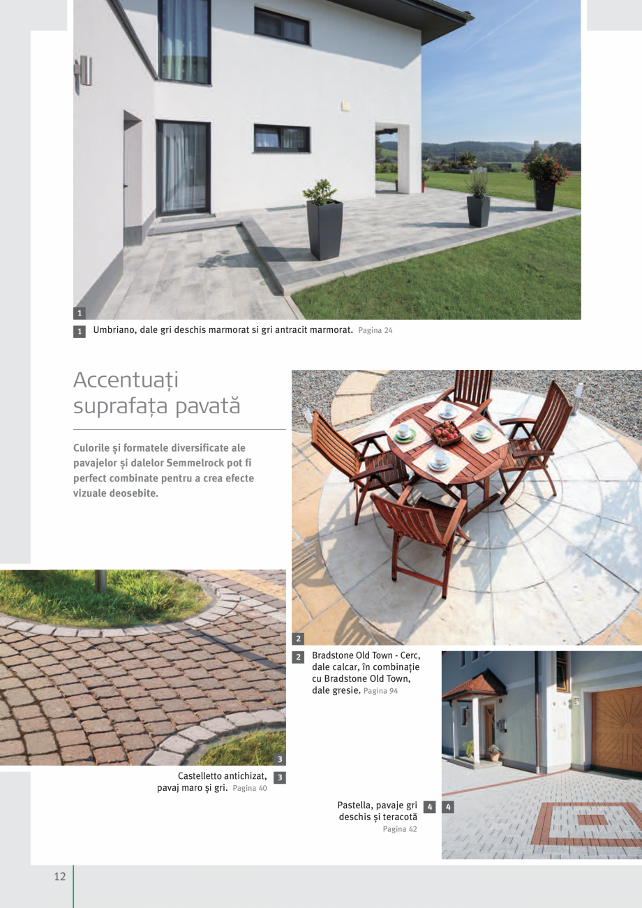Pagina 14 - Idei pentru gradina 2017 SEMMELROCK STEIN+DESIGN Catalog, brosura Romana chizat, pavaj...