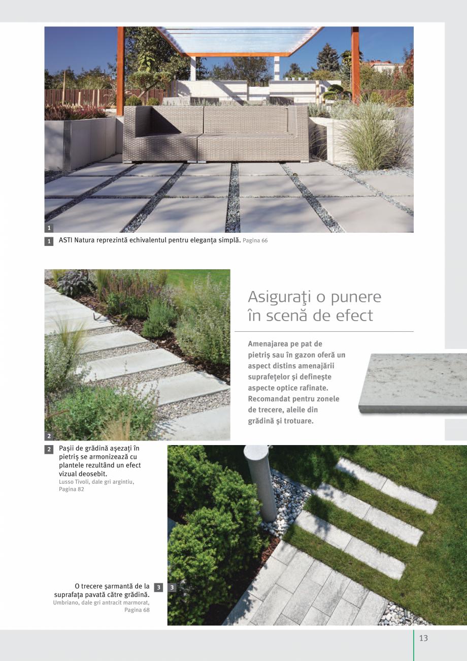 Pagina 15 - Idei pentru gradina 2017 SEMMELROCK STEIN+DESIGN Catalog, brosura Romana ediului...