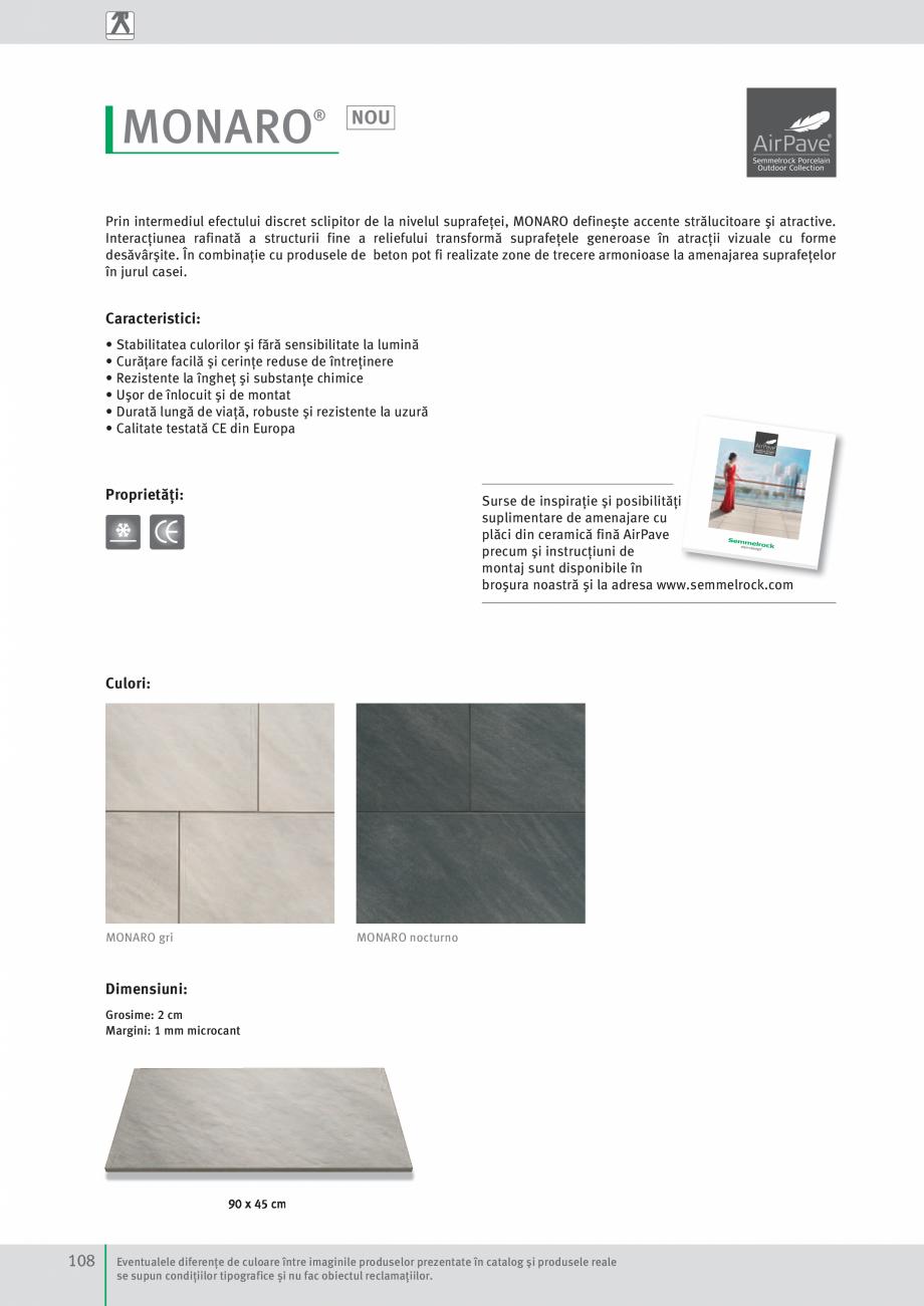 Pagina 110 - Idei pentru gradina 2017 SEMMELROCK STEIN+DESIGN Catalog, brosura Romana ţe de culoare...