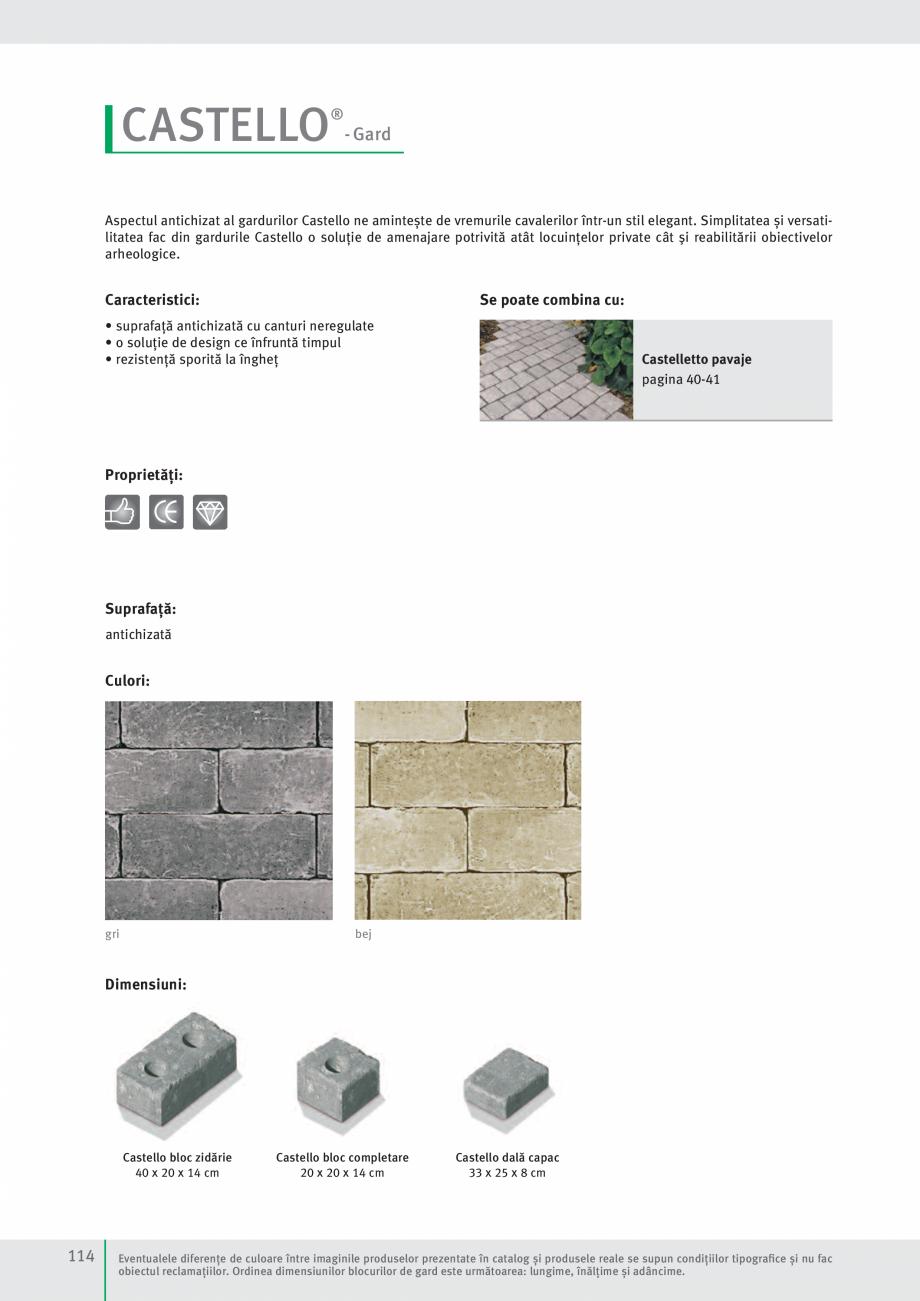 Pagina 116 - Idei pentru gradina 2017 SEMMELROCK STEIN+DESIGN Catalog, brosura Romana tate...