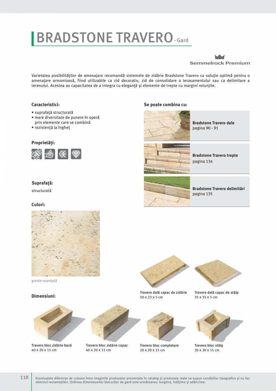 Pagina 120 - Idei pentru gradina 2017 SEMMELROCK STEIN+DESIGN Catalog, brosura Romana te un material...