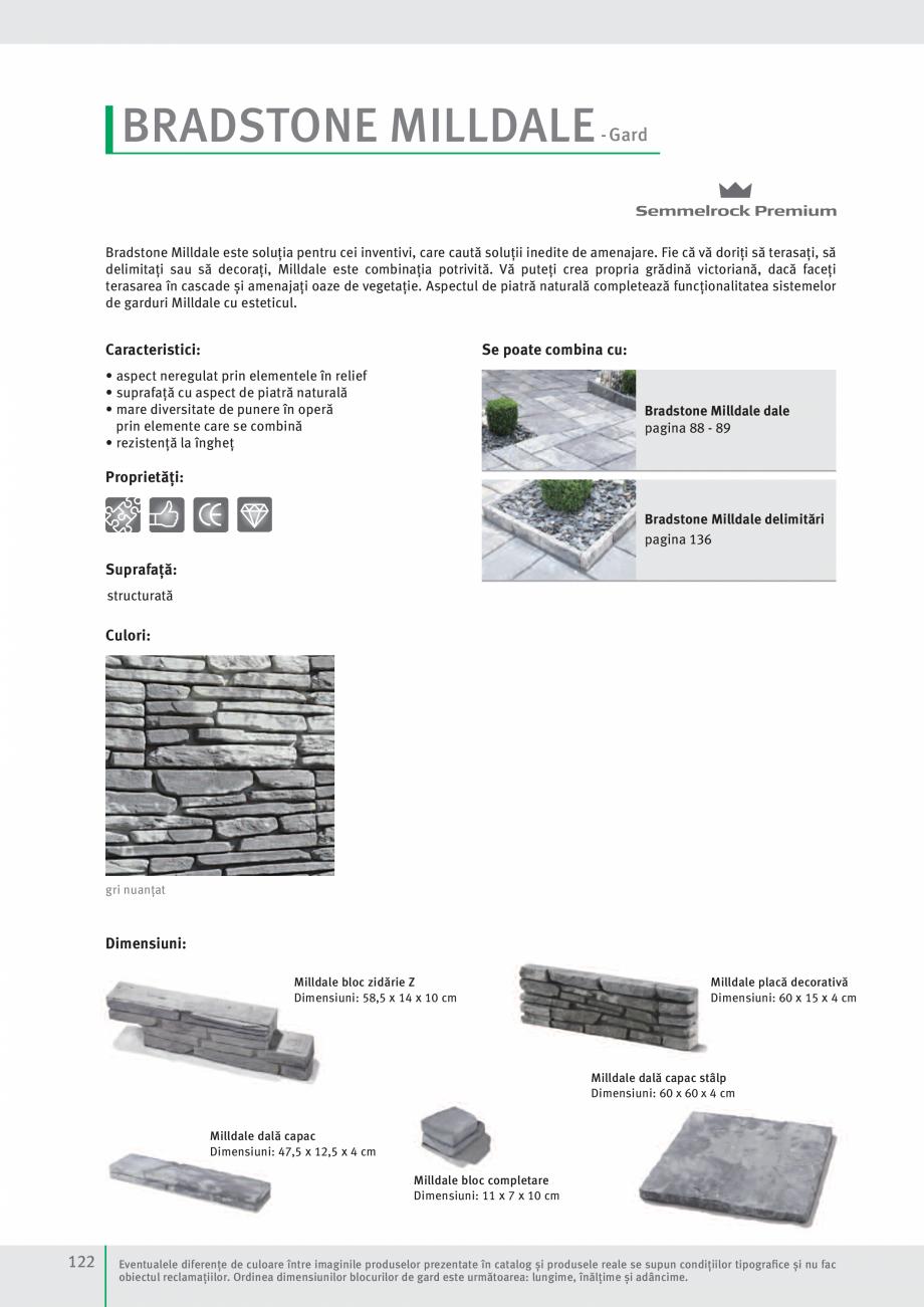 Pagina 124 - Idei pentru gradina 2017 SEMMELROCK STEIN+DESIGN Catalog, brosura Romana izat  20-30 ...