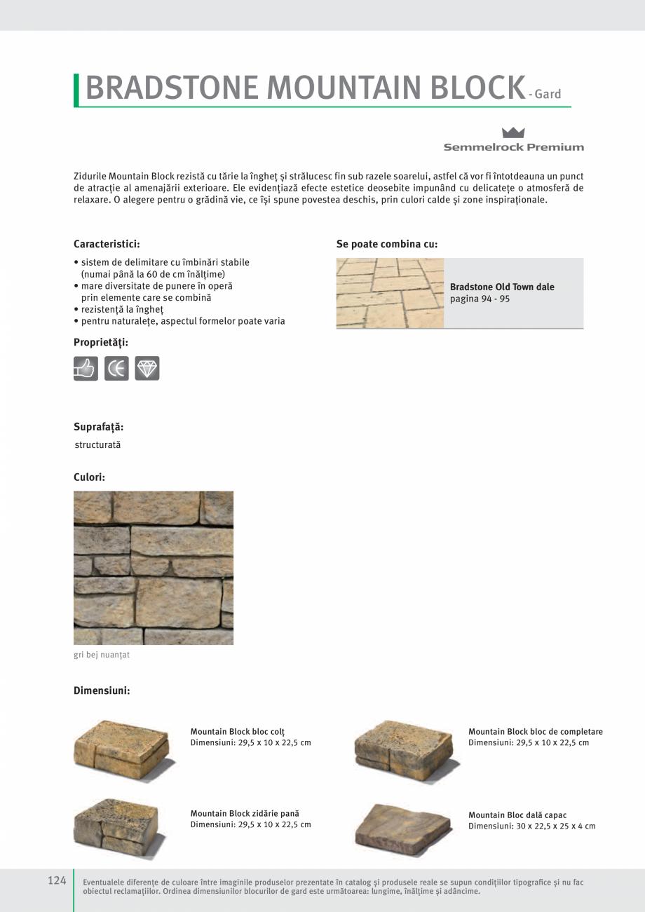 Pagina 126 - Idei pentru gradina 2017 SEMMELROCK STEIN+DESIGN Catalog, brosura Romana  în spate vă...
