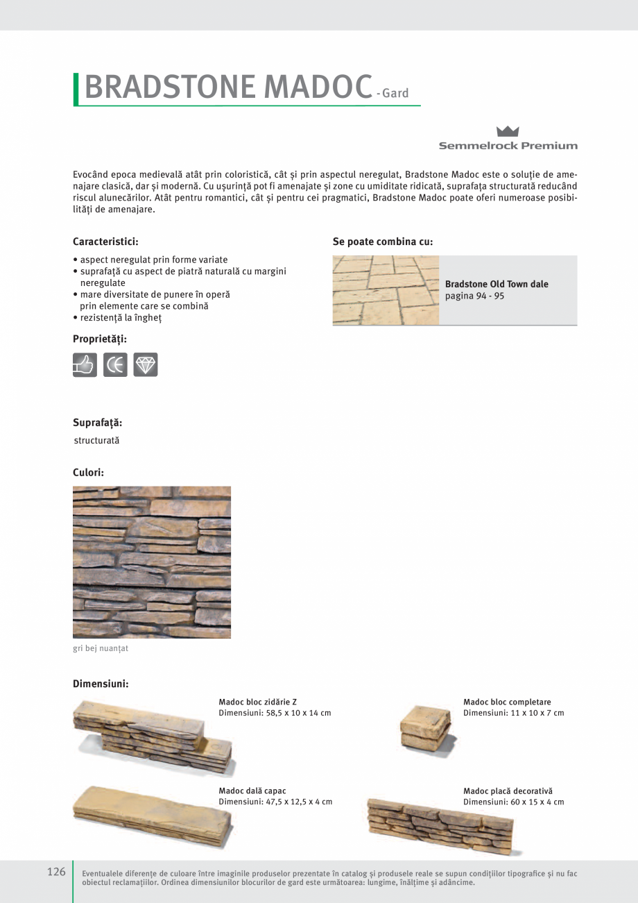 Pagina 128 - Idei pentru gradina 2017 SEMMELROCK STEIN+DESIGN Catalog, brosura Romana rtant superior...
