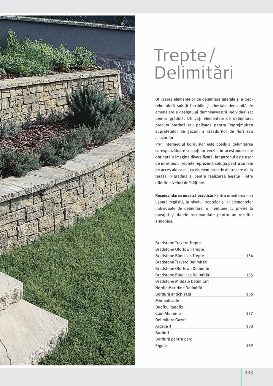 Pagina 135 - Idei pentru gradina 2017 SEMMELROCK STEIN+DESIGN Catalog, brosura Romana ü  În cazul...