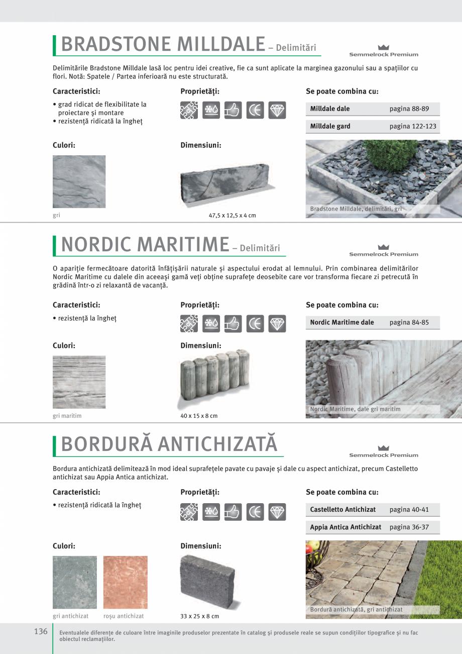 Pagina 138 - Idei pentru gradina 2017 SEMMELROCK STEIN+DESIGN Catalog, brosura Romana uctură sunt...