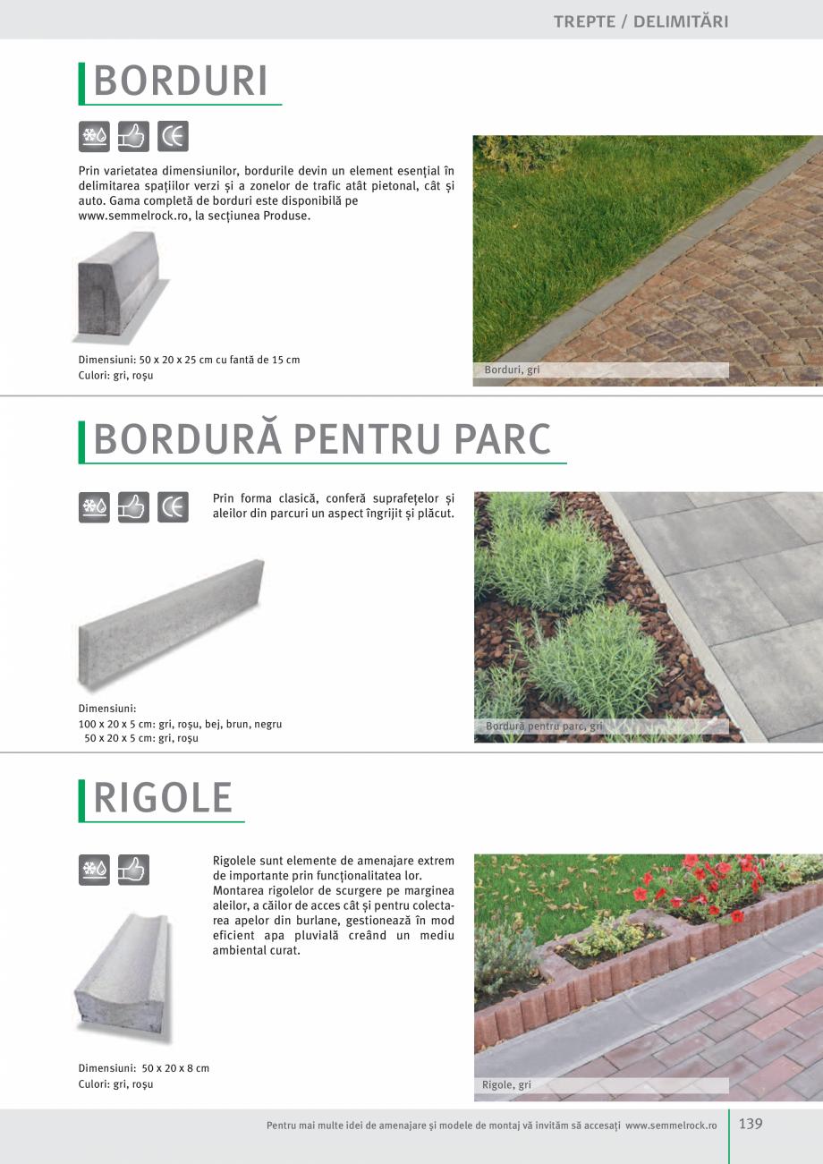 Pagina 141 - Idei pentru gradina 2017 SEMMELROCK STEIN+DESIGN Catalog, brosura Romana roduselor...