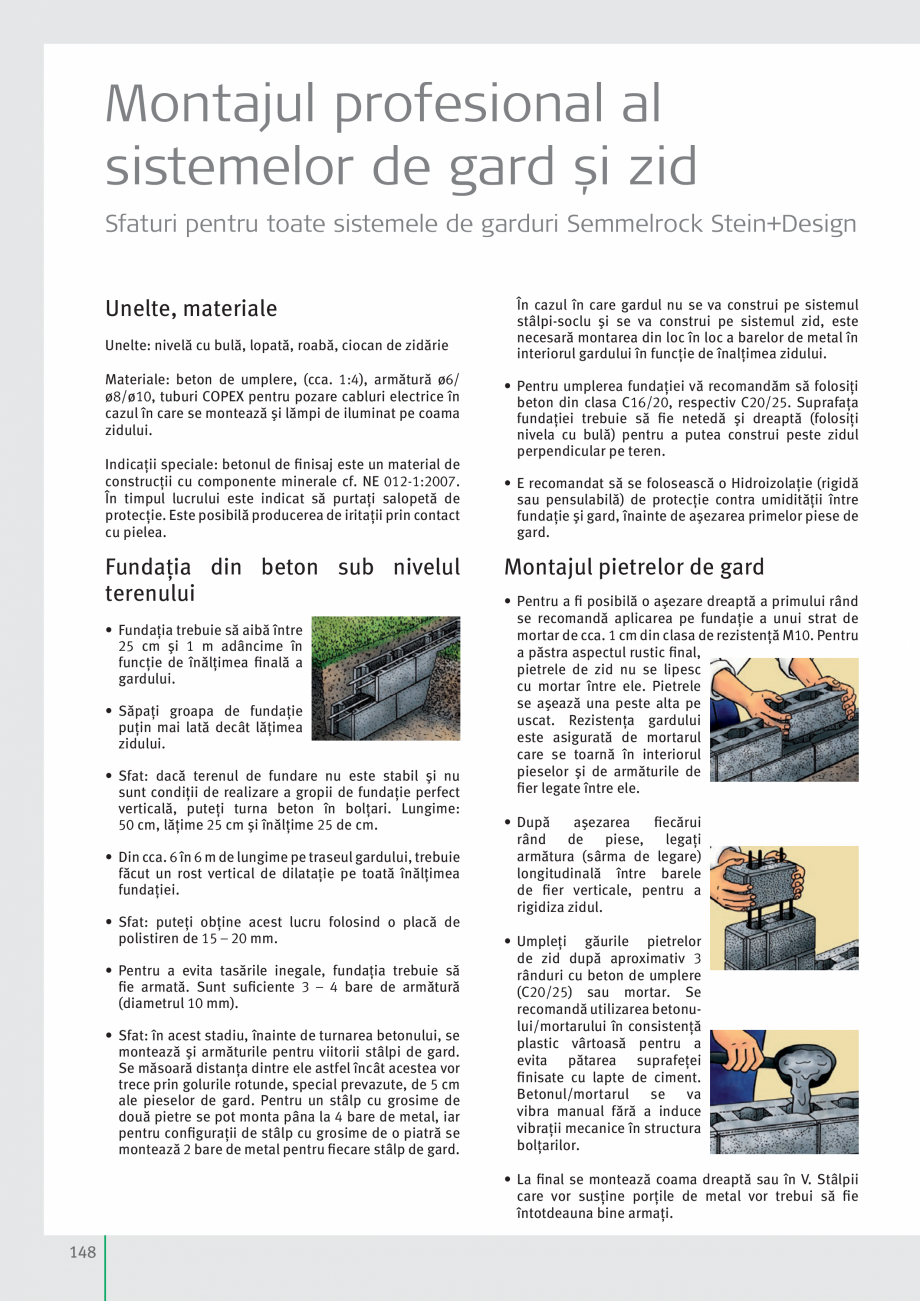 Pagina 150 - Idei pentru gradina 2017 SEMMELROCK STEIN+DESIGN Catalog, brosura Romana