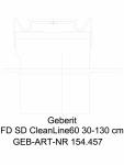 Rigola pentru dus Geberit CleanLine60 cod 154.457.00.1_L GEBERIT -