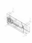 Element de instalare Geberit Kombifix pentru dus cu scurgere in perete pentru o inaltime a pardoselii