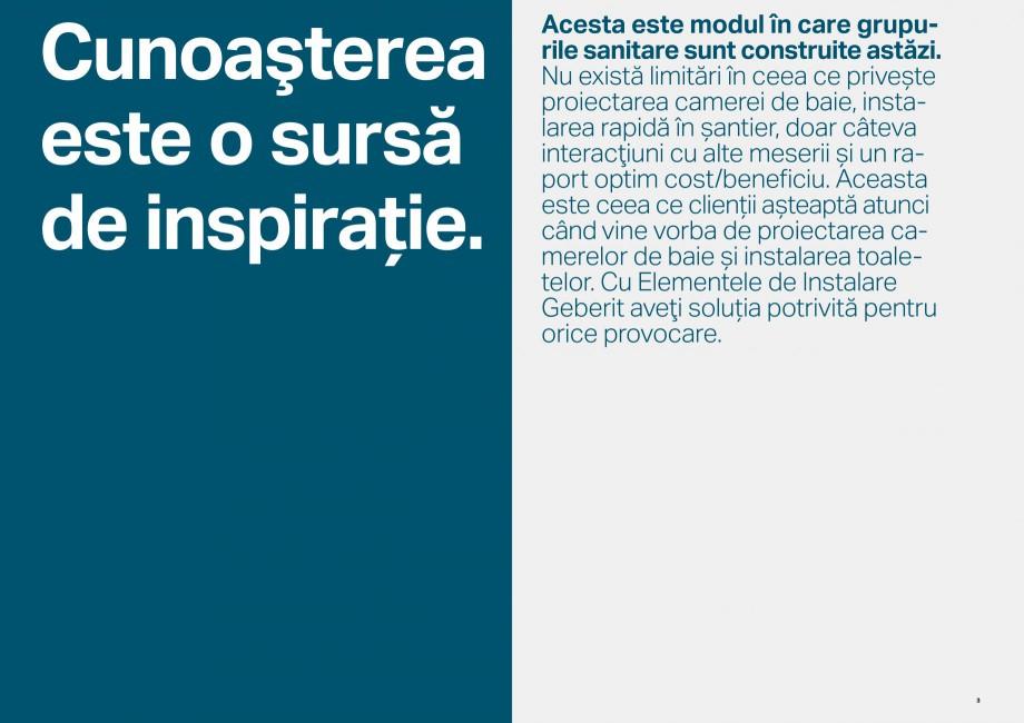 Pagina 2 - Elemente de instalare GEBERIT Scurgere in perete Catalog, brosura Romana arantat etanșe....