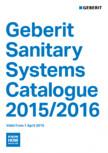 Sisteme sanitare Geberit 2015-2016 GEBERIT - Scurgere in perete, Scurgere in pardoseala, Sifon