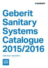 Sisteme sanitare Geberit 2015-2016 GEBERIT