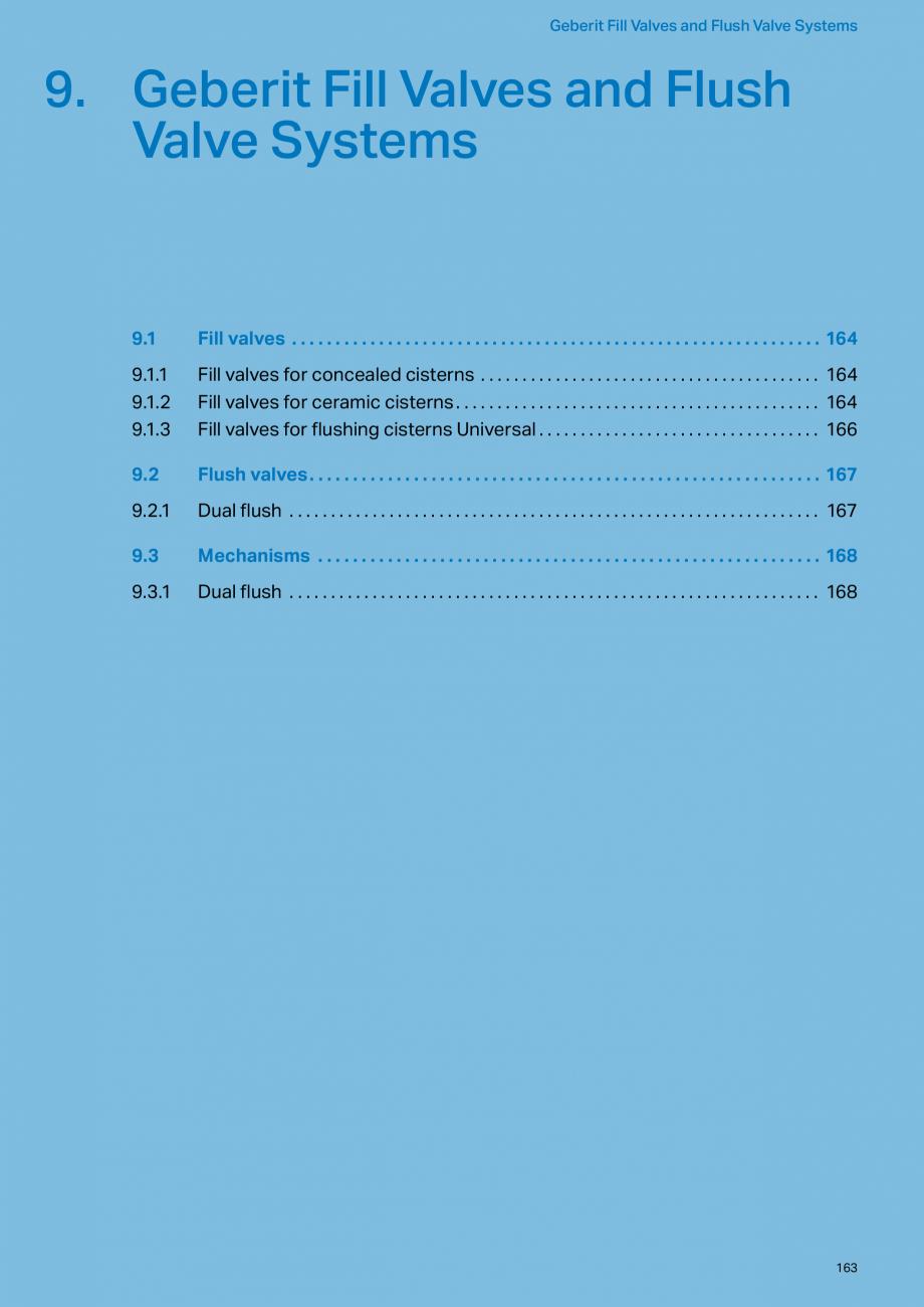 Pagina 163 - Sisteme sanitare Geberit 2015-2016 GEBERIT Scurgere in perete, Scurgere in pardoseala, ...