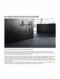 Rigola Cleanline personalizabila